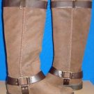 UGG Australia DREE Dark Chestnut Tall Leather Boots US 9.5, EU 40.5 NEW #1005690