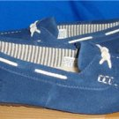 UGG Australia SPINNAKER Navy Mocassin Slippers BIG KIDS Size US 3 NIB #1006509 K