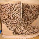 UGG Australia Chestnut Classic Short Rosette Boots Size US 5,EU 36 NIB #1006072