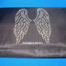 Victoria's Secret FASHION SHOW Bling Angel Wings Tri Fold Make Up Travel Bag NEW