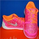 NIKE FREE 5.0 PINK Print Running Shoes Size US 4.5 Youth Big Girl NEW 748870 600