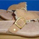 UGG Australia Vessa Chestnut Suede Sandals Size US 7, EU 38 NIB #1007229