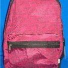 Victoria's Secret PINK Marbled Maroon Full Size Backpack Gym School NEW Sold Out
