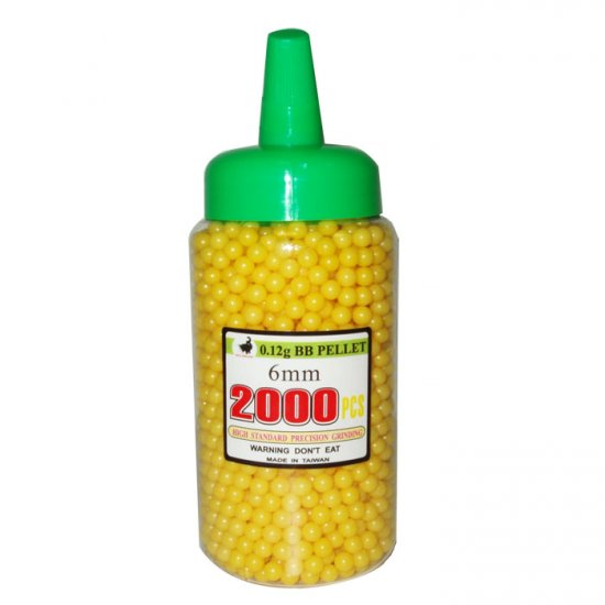 2000 Yellow BB's with Speed Bottle