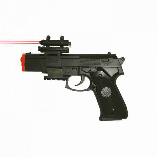 9mm Style Airsoft Gun with Laser Sight