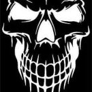 "2 Pack of Custom ""Skull Face"" Vinyl Decals / Stickers"