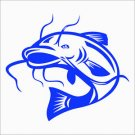 2(TWO) Pack of CUSTOM Catfish Vinyl Decals / Stickers