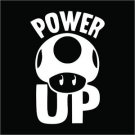 2 Pack of Power Up Vinyl Decals / Stickers
