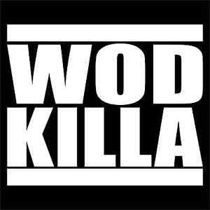 2 Pack of Custom Kettle WOD Killa XFit  Vinyl Decals / Stickers