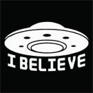 Custom 2(TWO) Pack of I Believe Vinyl Decal / Sticker