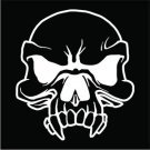 Vampire Skull Vinyl Decals / Stickers 2(TWO) Pack