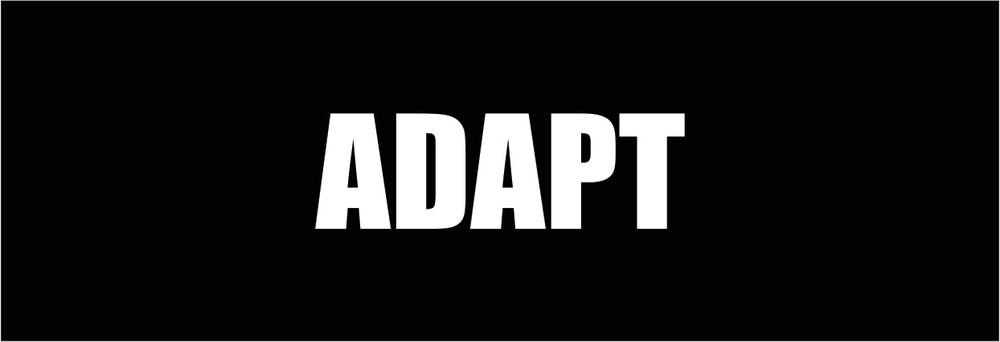 Adapt Vinyl Decals / Stickers 2(TWO) Pack