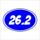 26.2 Marathon Vinyl Decals / Stickers 2(TWO) Pack