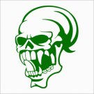 Skull Vampire 2 Vinyl Decals / Stickers 2(TWO) Pack