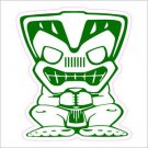Tiki Man Printed Vinyl Decals / Stickers 2(TWO) Pack