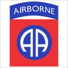 82nd Airborne Division Printed Vinyl Decal / Sticker