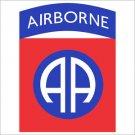 82nd Airborne Division Printed Vinyl Decal / Sticker
