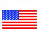USA America Flag Vinyl Decal / Sticker
