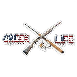 Creek Life Vinyl Decal / Sticker