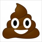 Poop Emoji Vinyl Decal / Sticker