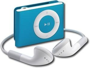Apple iPod shuffle 1GB* MP3 Player-Blue