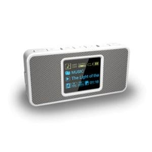 Coby Mp-c352 Portable Mp3 Digital Player With Stereo Speakers And 512mb Built-in Flash Memory And 2