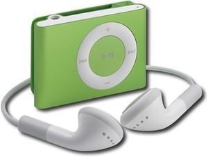 Apple iPod shuffle 1GB* MP3 Player-Green