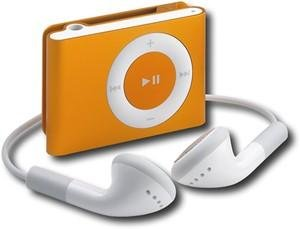 Apple iPod shuffle 1GB* MP3 Player-Orange
