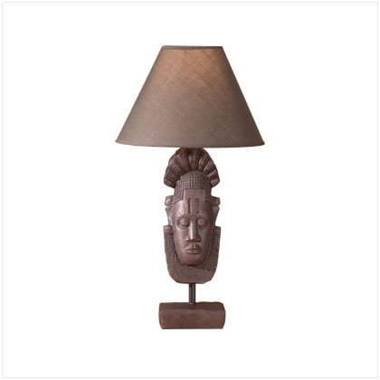 ALAB AFRICAN MASK LAMP