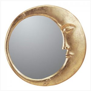 ALAB. GOLD MOON WALL MIRROR