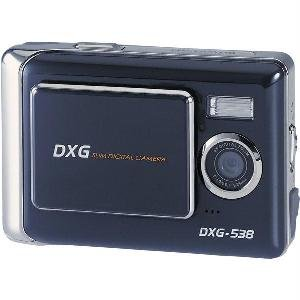 "DXG 5.0 MegaPixel Ultra-Slim Camera with 2.4"""" LCD"