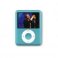 "Ipod NANO 3 Style MP4 Player 1.8"" TFT Screen 2 GB /Blue"