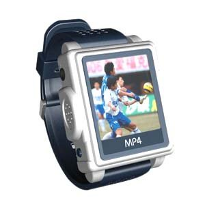1.5 inch Screen Watch Mp4 Player /512M (Blue)-S808-3