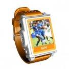 1.5 inch Screen Watch Mp4 Player /2G (Orange)-S808-4