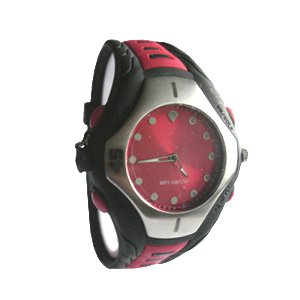 Watch MP3 Player 2G(red)-AD968