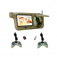 """7""""Car Sun-Visor DVD Player with USD/SD And Game Function(JE-786C/TV)"""