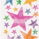 Maxi Vellum Star Stickers