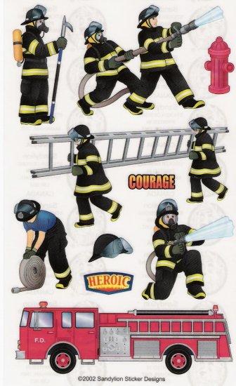 Firemen stickers