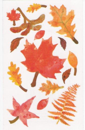 Maxi Fall Leaves