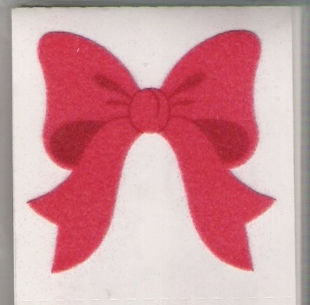 Fuzzy Red bows