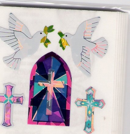 Wedding Doves and Crosses