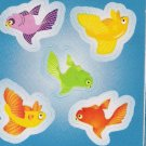 Blue Fishes