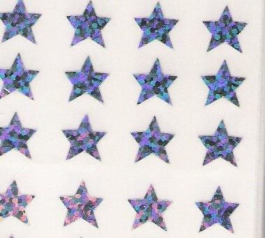 Mini Sliver Stars