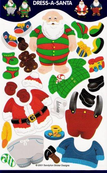 Maxi Dress a Santa