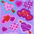 Maxi Purple Hearts