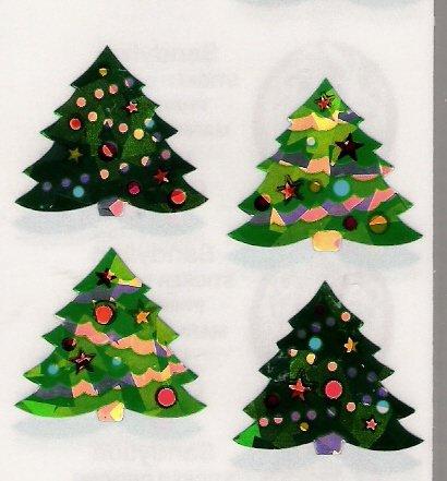 4 Christmas Trees