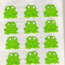 Sitting Frogs