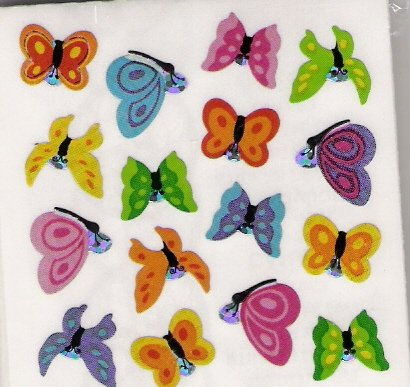 Mini Glittery Butterflies