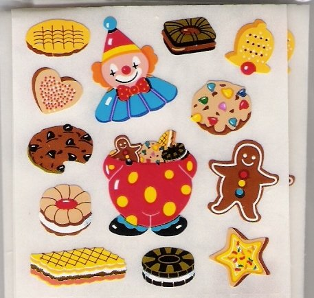 Mini Cookies Cakes Clown