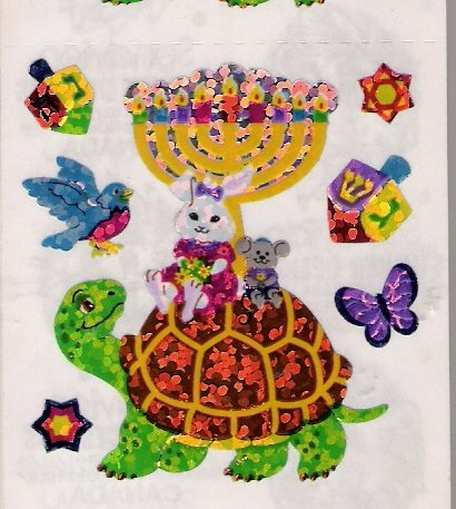 Turtle Menorah